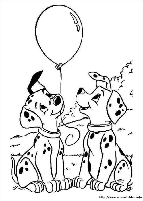 101 Dalmatiner malvorlagen