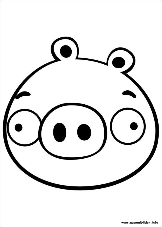 Ausmalbilder Angry Birds Ausmalbilder