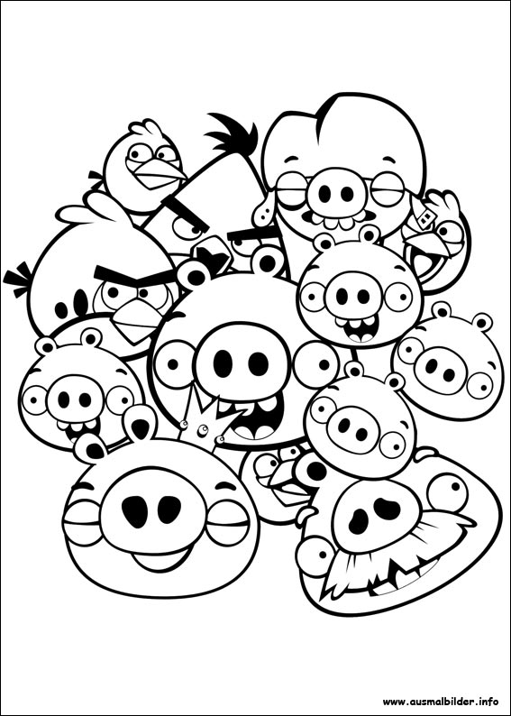 Großartig Angry Birds Malbuch Zeitgenössisch - Ideen färben ...