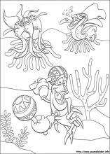 ausmalbilder von arielle, die meerjungfrau zum drucken