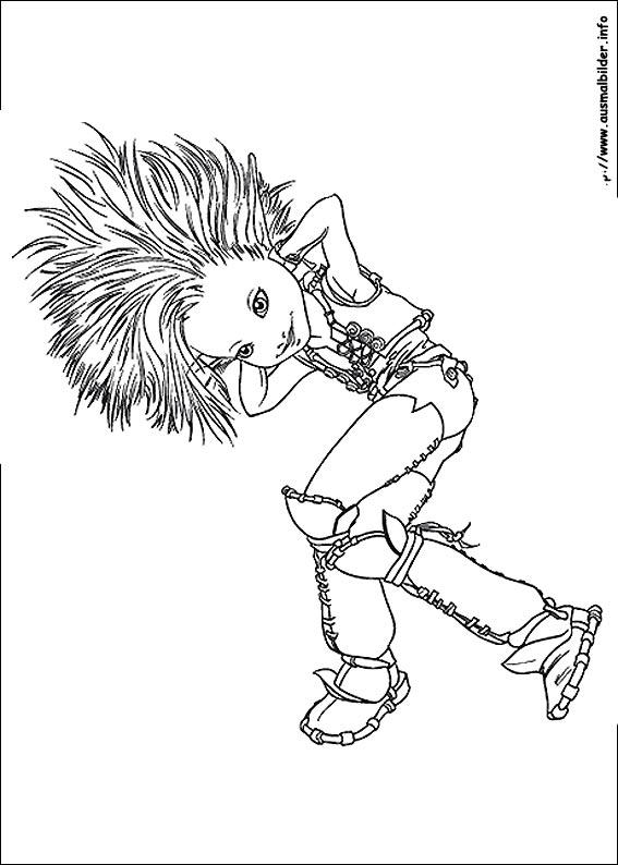 Arthur und die Minimoys 3 malvorlagen