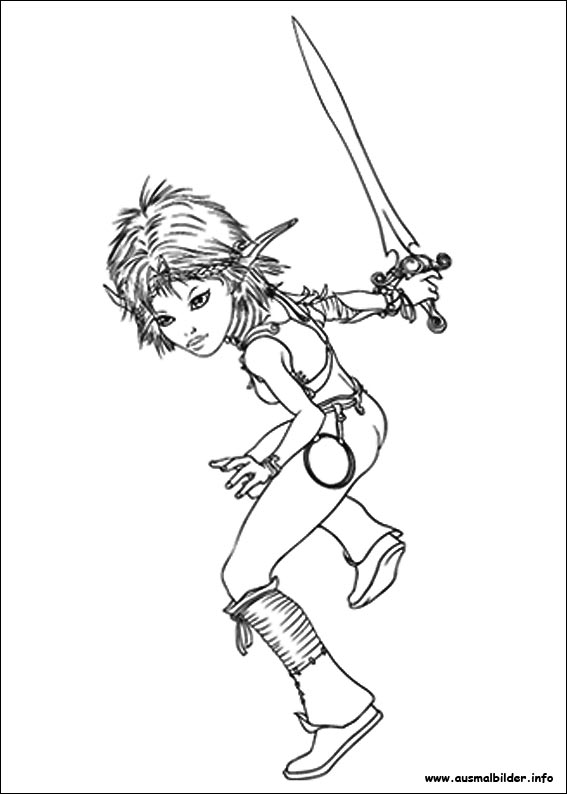 Ausmalbilder von Arthur und die Minimoys 3 zum Drucken