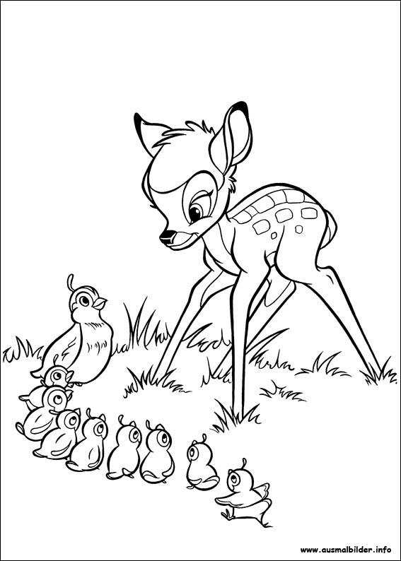 Bambi 2 malvorlagen