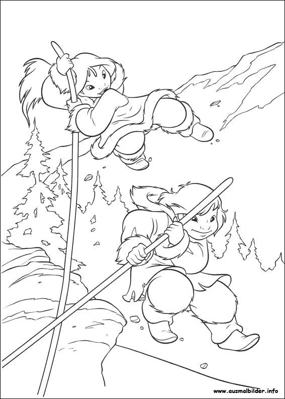 Bärenbrüder 2 malvorlagen
