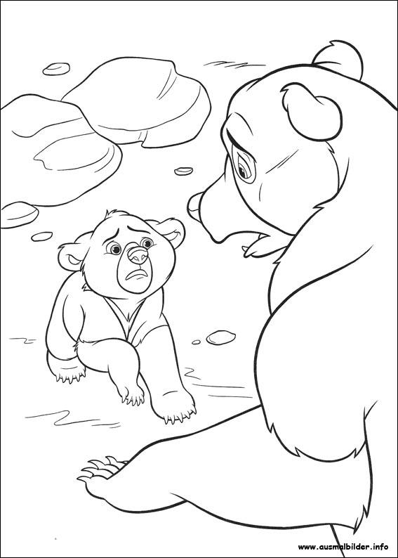 Ausmalbilder von Bärenbrüder 2 zum Drucken