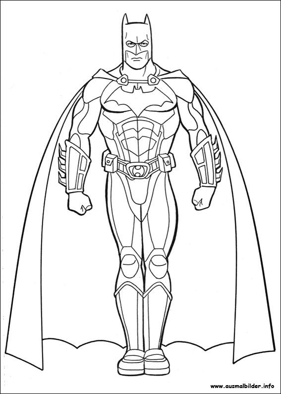 Ausmalbilder Batman | ausmalbilder