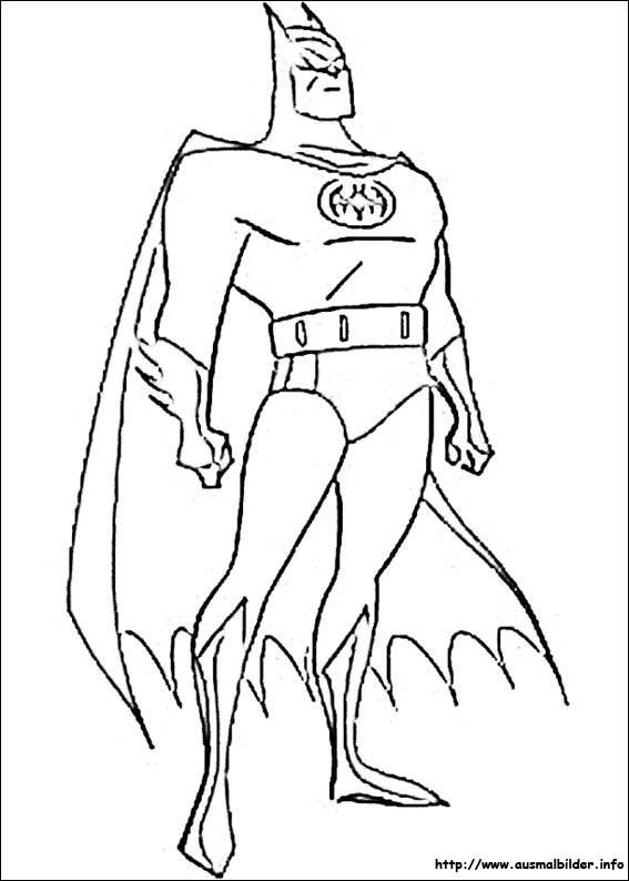 Gemütlich Gerechtigkeit Liga Batman Malvorlagen Bilder - Entry Level ...