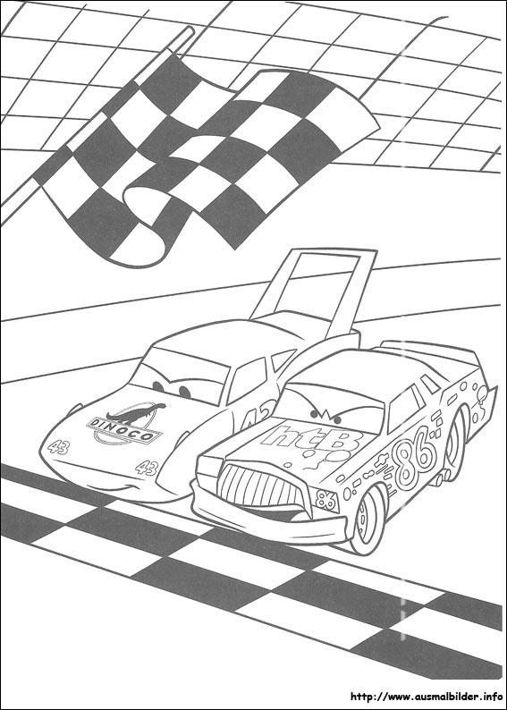 Disney Cars Malvorlagen: kostenlos und zum ausdrucken