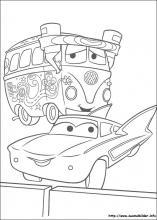 Malvorlagen Disney Cars