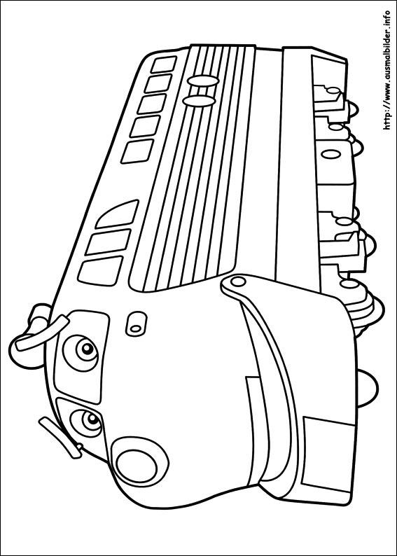 Chuggington Trein Kleurplaat Chuggington Malvorlagen