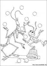 Ausmalbilder von Das große Krabbeln zum Drucken