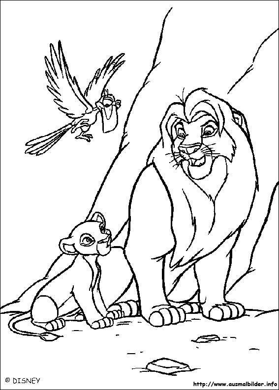 Der König Der Löwen Ausmalbilder Alle 2019