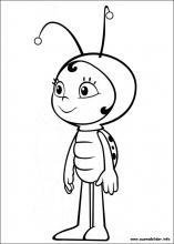 Ausmalbilder Von Die Biene Maja Zum Drucken