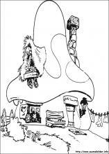 Ausmalbilder von die schl mpfe zum drucken - Gargamel dessin ...