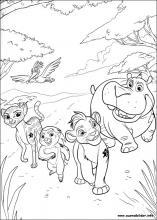 Ausmalbilder Von Die Garde Der Löwen Zum Drucken