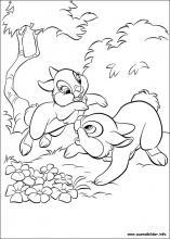 Ausmalbilder von Disney Bunnies zum Drucken
