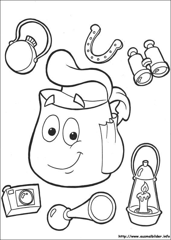 Ziemlich Dora Die Forscher Malbücher Ideen - Ideen färben - blsbooks.com