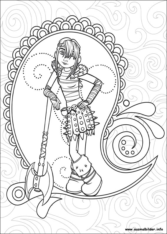 dragon 2 coloring pages - photo#22