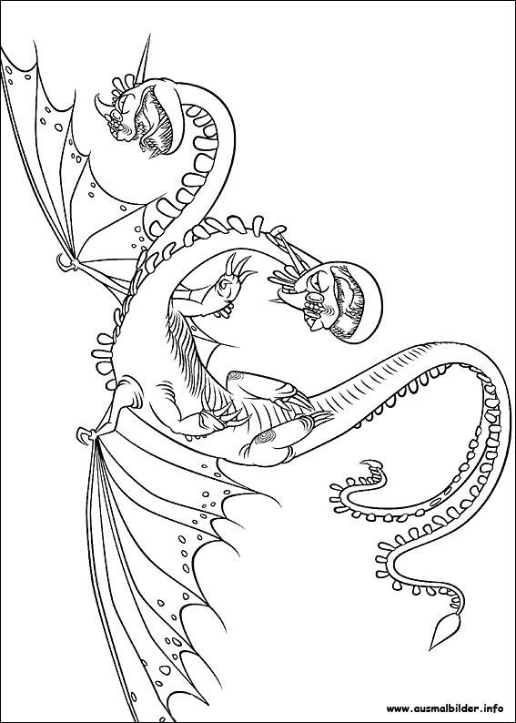 Drachenz hmen leicht gemacht malvorlagen for How to train your dragon coloring page
