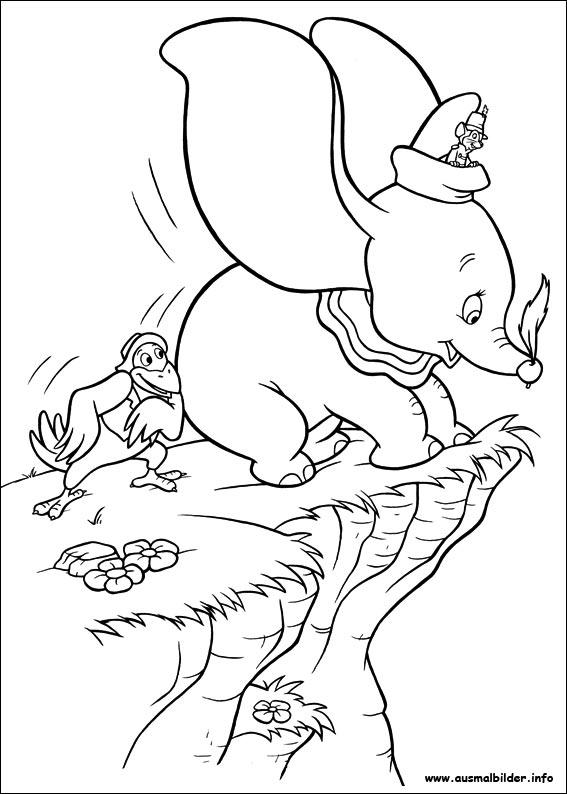 Gemütlich Dumbo Malvorlagen Zeitgenössisch - Dokumentationsvorlage ...