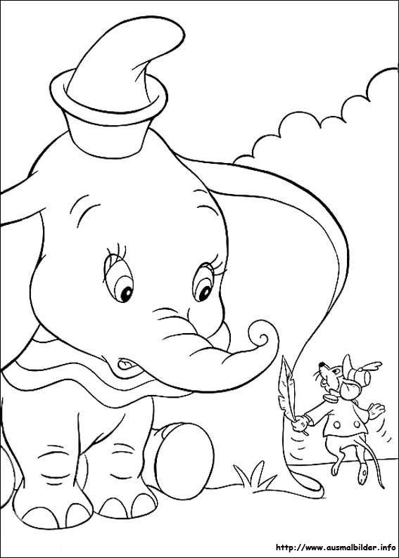 Dumbo Ausmalbilder | heimhifi.com