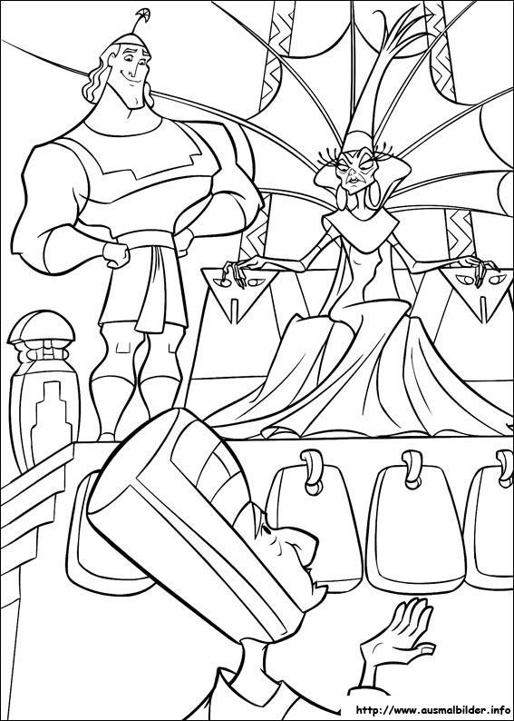Ein Königreich für ein Lama malvorlagen