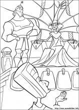 Ausmalbilder von Ein Königreich für ein Lama zum Drucken