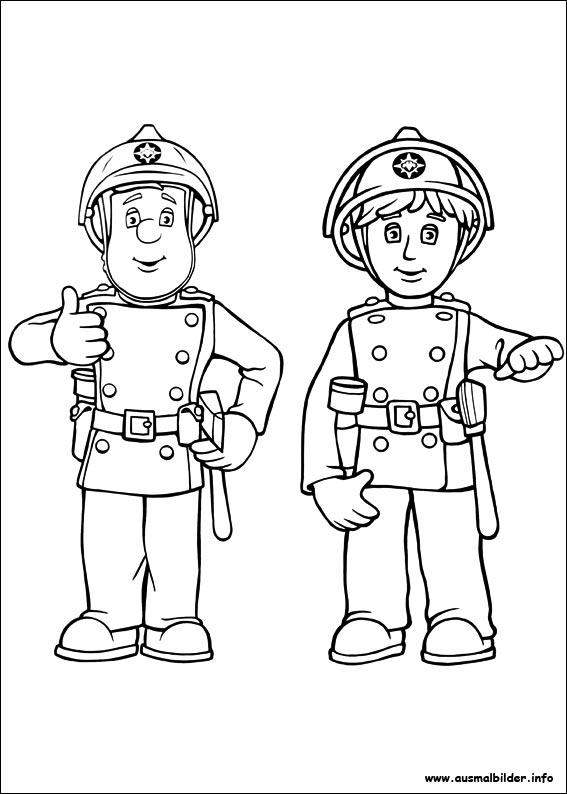Feuerwehrmann Sam Ausmalbilder Feen Ausmalbilder