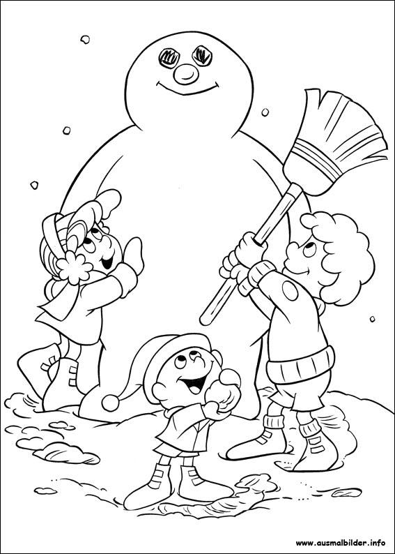 Frosty, der Schneemann malvorlagen