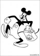 Ausmalbilder von Goofy zum Drucken