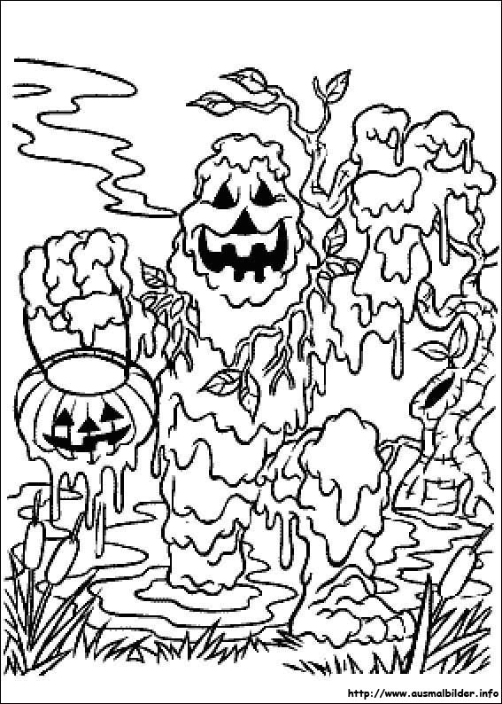 Diable Coloring Pages