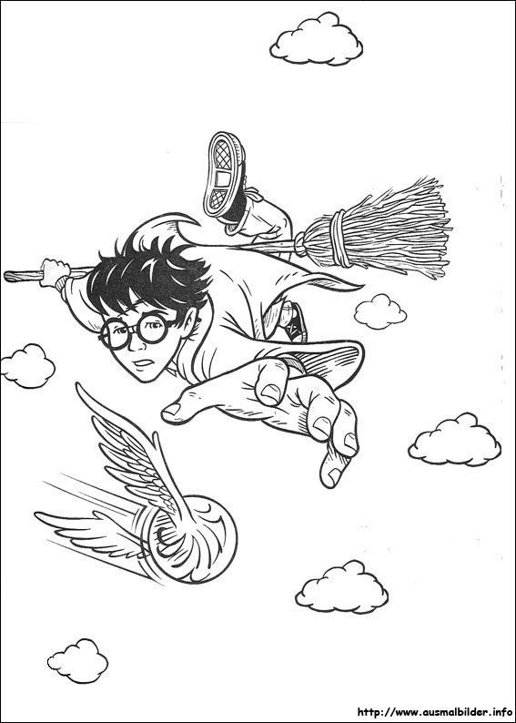 Ausmalbilder Von Harry Potter Zum Drucken