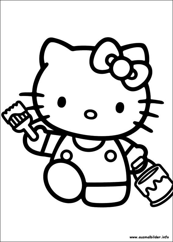 David Koch Malvorlagen Hello Kitty Zum Ausdrucken