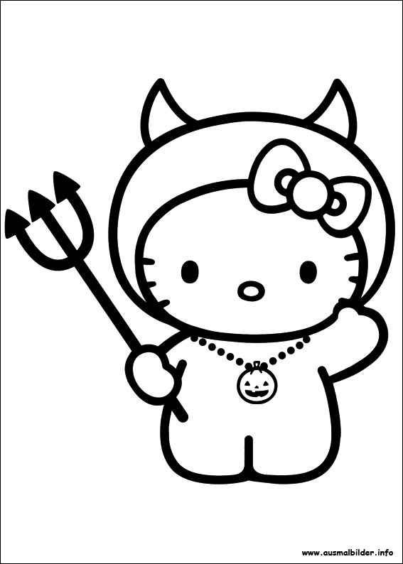 hello kitty malbuch