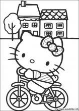 Ausmalbilder Von Hello Kitty