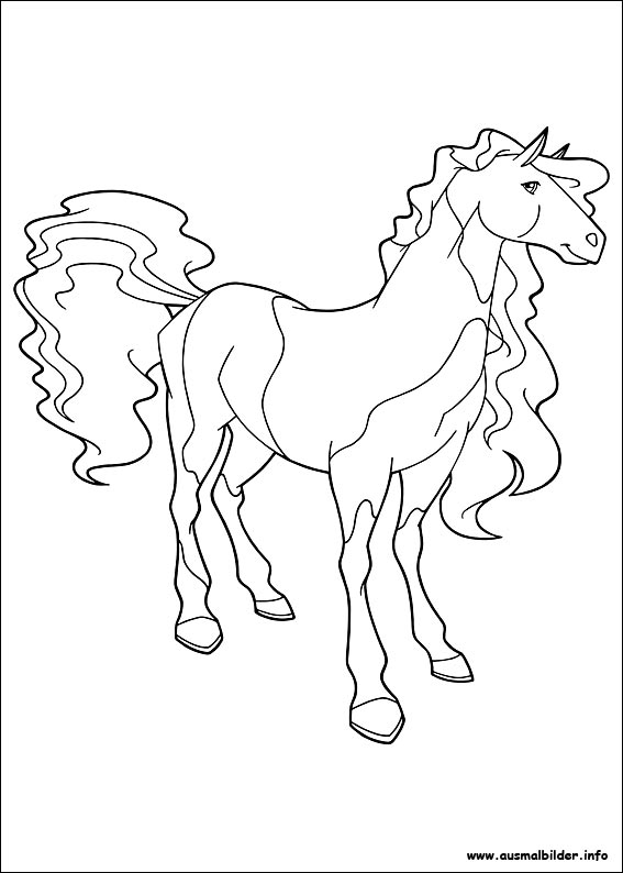 horseland zoey coloring pages - photo#22