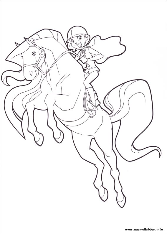 horseland zoey coloring pages - photo#6