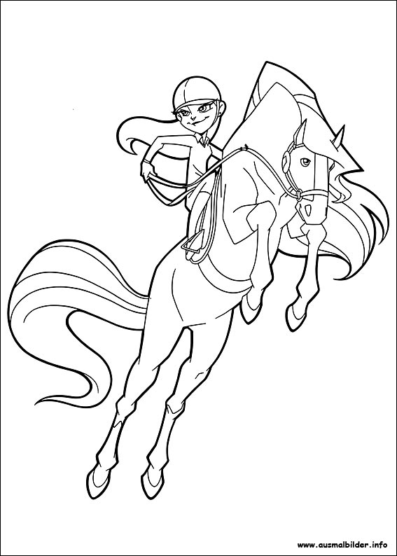 Horseland malvorlagen for Coloring pages horseland