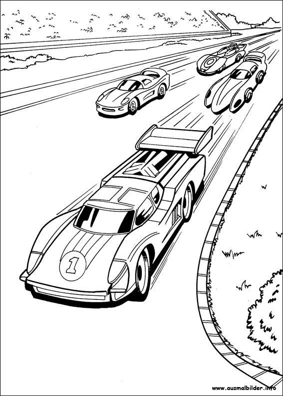 Malvorlagen Autos Bmw Zum Drucken Malvorlage Rennwagen â