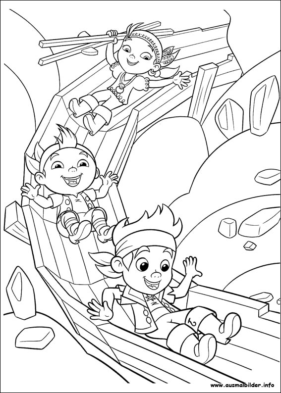 Free Jake And The Neverland Coloring Pages Jake Colouring Pages