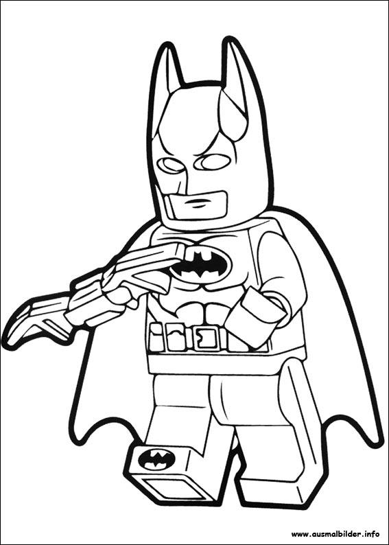Ausmalbilder Von Lego Batman Zum Drucken