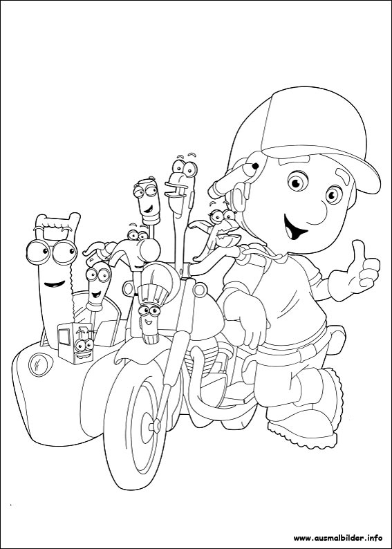 Coloring Handy Manny Turner Related Keywords & Suggestions ...