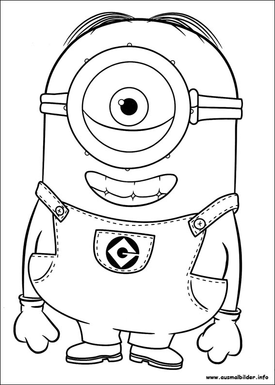 minions coloring pages halloween - photo#35