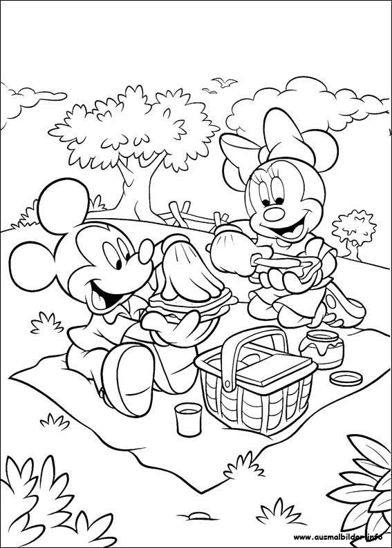 Ungewöhnlich Malvorlagen Von Micky Maus Und Minnie Fotos ...