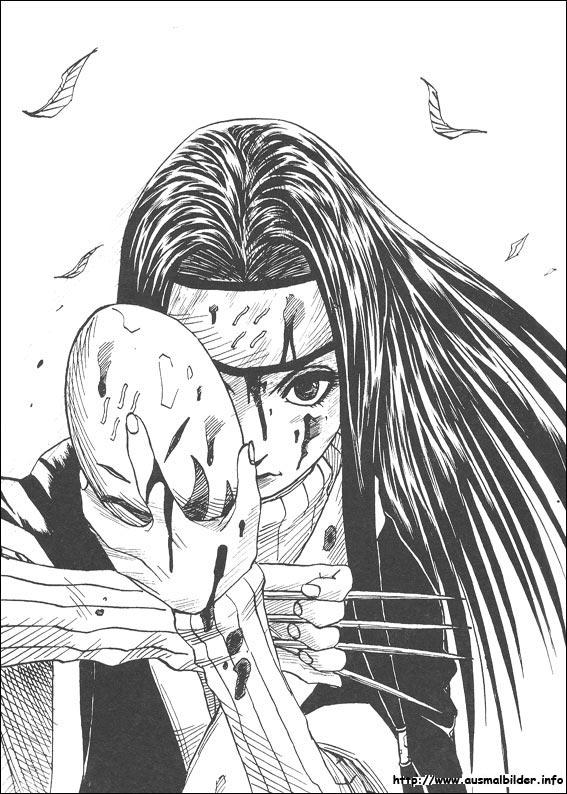 Naruto malvorlagen