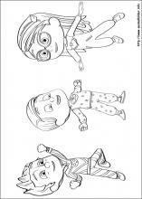 Ausmalbilder Von Pj Masks Pyjamahelden Zum Drucken