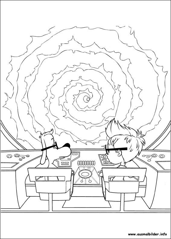 Die Abenteuer von Mr. Peabody & Sherman malvorlagen
