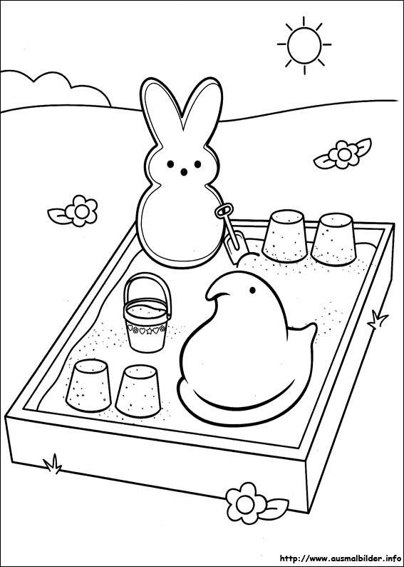 Marshmallow Peeps malvorlagen