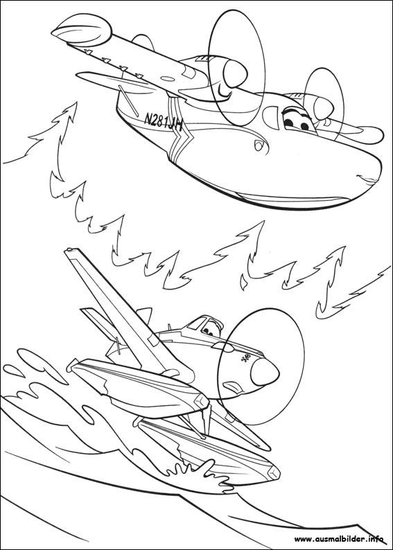 Gratis Kleurplaten Planes.Kleurplaten Planes 2 Printen Planes 2 Immer Im Einsatz Malvorlagen