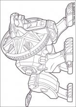 Ausmalbilder Von Power Rangers Zum Drucken